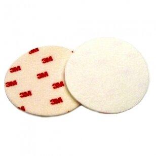3M Kibus poliravimo diskas 127 mm veltininis Finesse-it (Hookit velcro stiklo), baltas