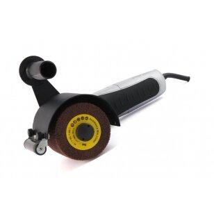 Adapteris kampiniam šlifuokliui Būgninė šlifavimo-poliravimo mašinėlė- standard su ratuku