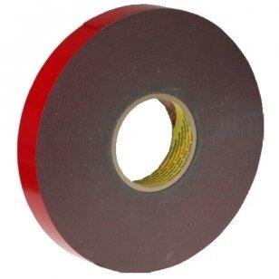 AFTC® 6011 Lipni dvipusė juosta V.H.B. 19x1,2mm 33m