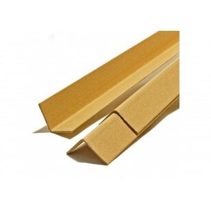 Apsauginiai kartoniniai pakavimo kampai 45x45x2x2000 mm