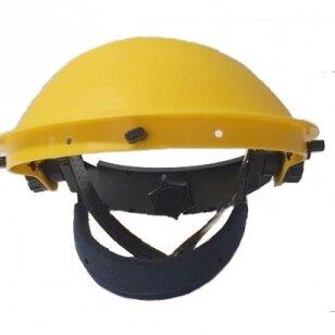 Apsauginis skydelis (tik rėmas) Rhino - Headgear, geltonas