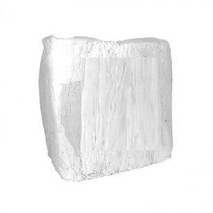 Balta tekstilė (pramoninės šluostės) NAUJ 10 kg.