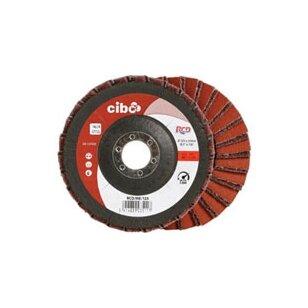 CIBO Žiedlapinis diskas kombinuotas 125x22mm VFN+P150 (švelnus)