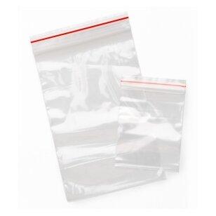 Daugkartinio uždarymo maišeliai 6x8 cm Minigrip (1000 vnt)