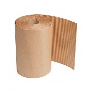 Gofruotas kartonas 2 sluoksnių 1,5x100 m rulonas