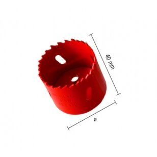 Gręžimo karūna ECEF Bi-Metall HSS 35 mm