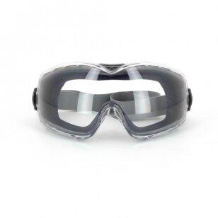 Honeywell Apsauginiai akiniai skaidrus lęšis Eyeface DURAMAXX, dirželis medžiaginis