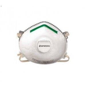 Honeywell Respiratorius Sperian su vožtuvu N1125 N95 NR D V, dydis M/L