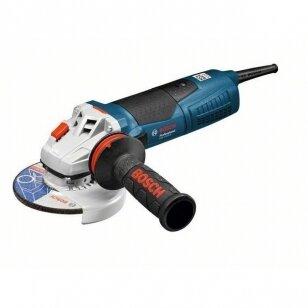 Įrankis elektrinis Bosch GWS 17-125 CIE Kampinė šlifavimo mašina