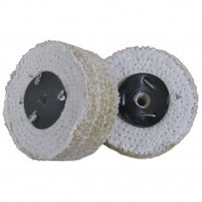 LEA Poliravimo diskas 100 mm x 3 sec, C/S Sisal AA DRY Soft