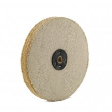 LEA Poliravimo diskas 300 mm x 3 sec, Sisal AA DRY, C/S tankiai susiūtas, švelnus