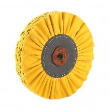 LEA Poliravimo diskas 350 mm x 3 sec, 16 ply 2J BRONCO, ventiliuojmas, geltonas