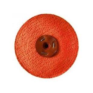 LEA Poliravimo diskas 150 mm x 1 sec. 0,65 mm pločio, Sisal Orange, C/S oranžinis