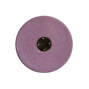 LEA Poliravimo diskas 200 mm x 2 sec. Sisal AA, C/S raudonas