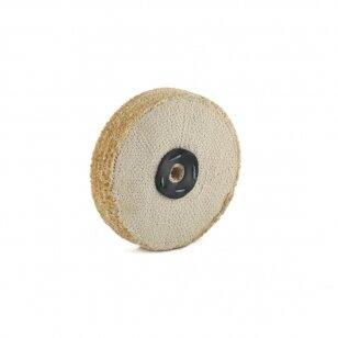 LEA Poliravimo diskas 200 mm x 3 sec C/S Sisal AA DRY Soft