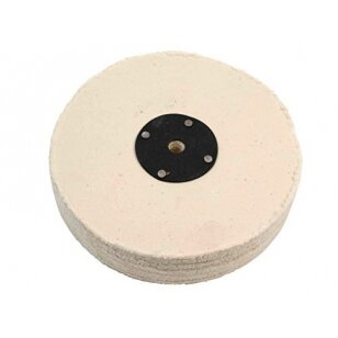 LEA Poliravimo diskas 250 mm (60 fold) Calico DG Loosefold, baltas