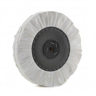 LEA Poliravimo diskas 300 mm x 3 sec. 16ply 2J TB WDR, ventiliuojmas, baltas