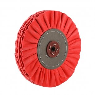 LEA Poliravimo diskas 350 mm x 3 sec, 16 ply airflow 2J No.6, impregnuotas, raudona