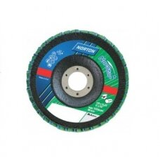 Norton Žiedlapinis diskas Conic R822/RX22 (Zirc) 180x22 P40 NORSTAR METAL/INOX