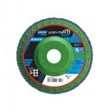 Norton Žiedlapinis diskas R842 125x22 P80 EASY TRIM, konus METAL/INOX