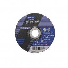 Norton pjovimo diskas A30S-BF41 125x2.0x22.23 VULCAN METAL/INOX