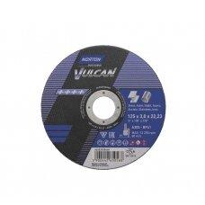 Norton pjovimo diskas A30S-BF41 125x3.0x22.23 VULCAN METAL/INOX