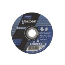 Norton pjovimo diskas A46S-BF41 125x1.6x22.23 VULCAN METAL/INOX