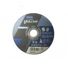 Norton pjovimo diskas A60S-BF41 125x1.0x22.23 VULCAN METAL/INOX
