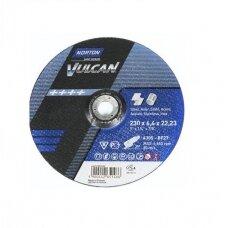 Norton Šlifavimo diskas A30S-BF27 230x8.0x22.2 VULCAN METAL/INOX