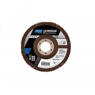 Norton Žiedlapinis diskas Conus R996 125x22 P60 QUANTUM METAL/INOX