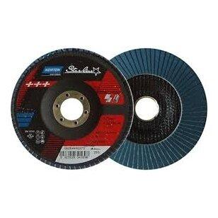 Norton Žiedlapinis diskas Flat R82B 125x22 P40 STARLINE METAL/INOX