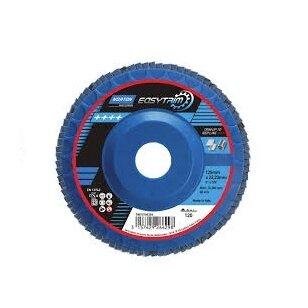 Norton Žiedlapinis diskas R842 125x22 P120 EASY TRIM, konus METAL/INOX