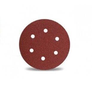 Norton Kibus šlifavimo diskas H216F 150x0 P150 VULCAN 6 skylių Norgrip