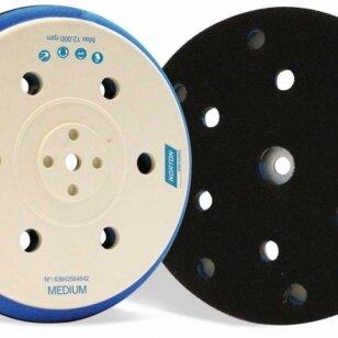 Norton Padas kibiam šlifavimo diskui 5/16 & M8x150mm 15 (8+6+1) skylių Medium Norgrip UNIVERSAL