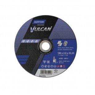 Norton pjovimo diskas A30S-BF41 180x2.0x22.23 VULCAN METAL/INOX