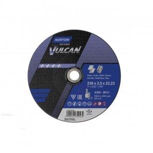 Norton pjovimo diskas A30S-BF41 230x2.5x22.23 VULCAN METAL/INOX