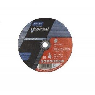 Norton pjovimo diskas A46T-BF41 230x1.9 x22.23 VULCAN INOX