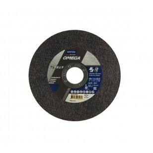Norton pjovimo diskas A46W-BF41 125x1.6x22.23 OMEGA METAL/INOX