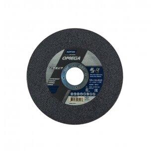 Norton pjovimo diskas A60W-BF41 125x1.0x22.23 OMEGA METAL/INOX