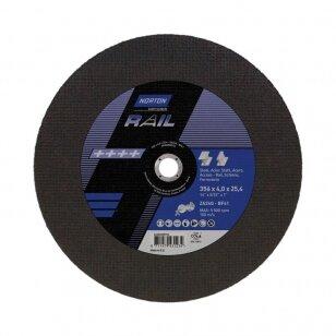 Norton pjovimo diskas (bėgiams) RAIL ZA24Q-BF41 356x4.0x25.4