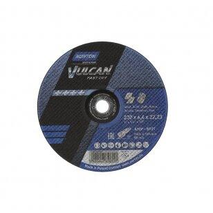Norton Šlifavimo diskas A30P-BF27 230x6.4x22.23 VULCAN METAL/INOX