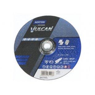 Norton Šlifavimo diskas A30Q-BF27 180x6.4x22.23 VULCAN METAL/INOX