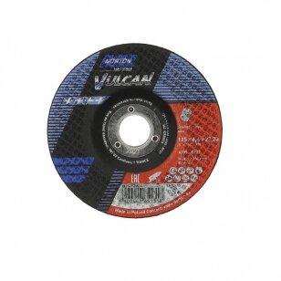 Norton Šlifavimo diskas A30S-BF27 125x6.4x22.23 VULCAN INOX