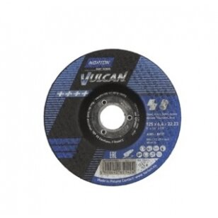 Norton Šlifavimo diskas A30S-BF27 125x6.4x22.23 VULCAN METAL/INOX