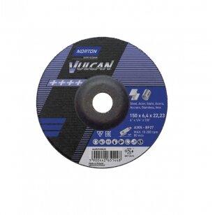 Norton Šlifavimo diskas A30S-BF27 150x6.4x22.23 VULCAN METAL/INOX