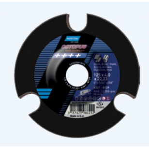 Norton Šlifavimo diskas A60T-BF29 125x4.0x22.23 P60 OCTOPUS METAL/INOX