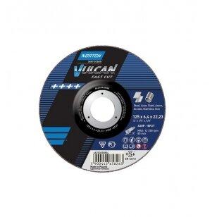 Norton Šlifavimo diskų rinkinys 20 vnt. A30P-BF27 125x6.4x22.23 VULCAN METAL/INOX