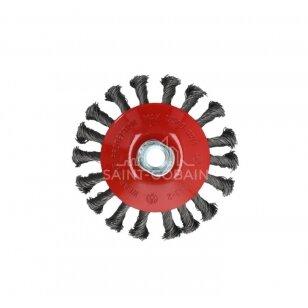 Norton Vielinis šepetys 115x15xM14 0.5 T27.5, kūgio formos