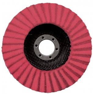 Norton Žiedlapinis diskas Conus R928 125x22 P80 X-TREME PRO METAL/INOX