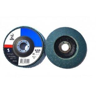 Norton Žiedlapinis diskas KX663 125x22 P80 ATLAS METAL/INOX